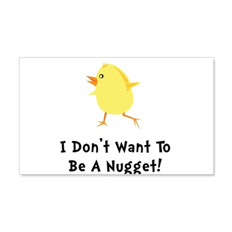 Chicken Nugget 20x12 Wall Decal