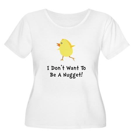 Chicken Nugget Women's Plus Size Scoop Neck T-Shir