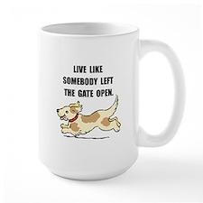 Dog Gate Open Mug