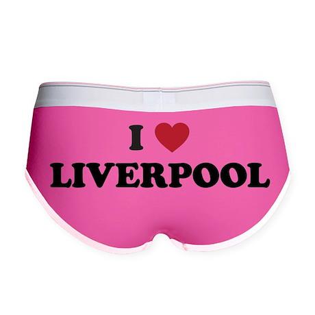 I Love Liverpool Women's Boy Brief