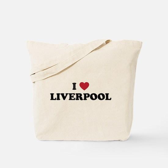 I Love Liverpool Tote Bag
