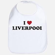 I Love Liverpool Bib