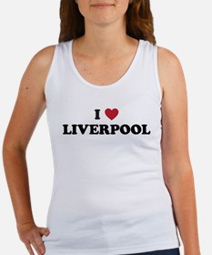 I Love Liverpool Women's Tank Top