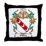 O'Ring Coat of Arms Throw Pillow