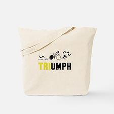 Tri Triumph Tote Bag