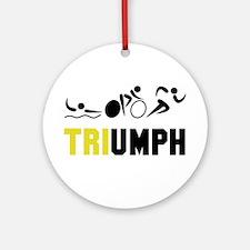 Tri Triumph Ornament (Round)