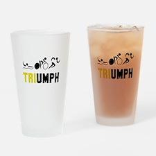 Tri Triumph Drinking Glass