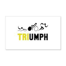 Tri Triumph Wall Decal