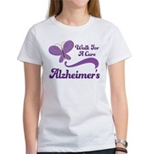 Alzheimers Walk For A Cure Tee