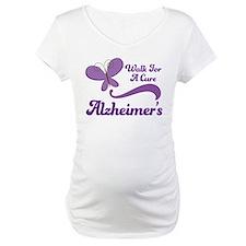 Alzheimers Walk For A Cure Shirt