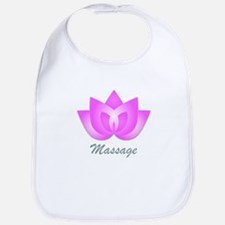 Massage Lotus Flower Bib