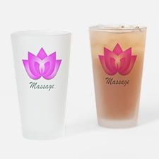 Massage Lotus Flower Drinking Glass