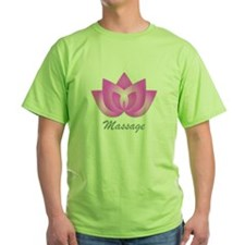 Massage Lotus Flower T-Shirt
