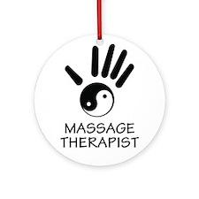 Yin-Yang Massage Hand Ornament (Round)