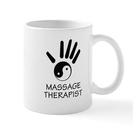 Yin-Yang Massage Hand Mug