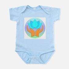 Lotus Flower - Healing Hands Infant Bodysuit