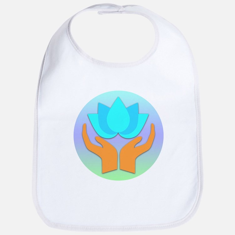 Lotus Flower - Healing Hands Bib