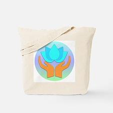 Lotus Flower - Healing Hands Tote Bag