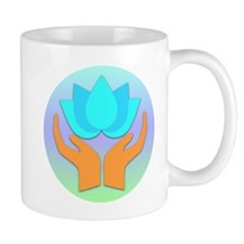 Lotus Flower - Healing Hands Mug