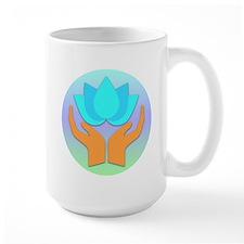 Lotus Flower - Healing Hands Mug