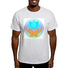 Lotus Flower - Healing Hands T-Shirt