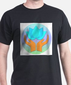 Lotus Flower - Healing Hands T-Shirt