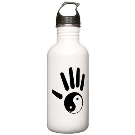 Yin-Yang Hand Stainless Water Bottle 1.0L