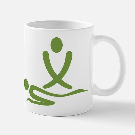 Green massage design Mug
