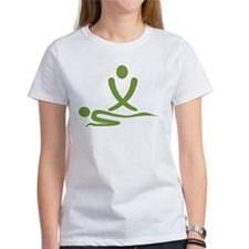 Green massage design Tee