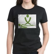 Green massage design Tee