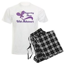 Alzheimers Support Butterfly Pajamas