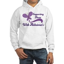Alzheimers Support Butterfly Hoodie