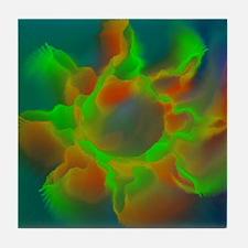 Plasma Star Tile Coaster