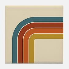 Retro Curve Tile Coaster
