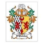 O'Quinlan Coat of Arms Small Poster