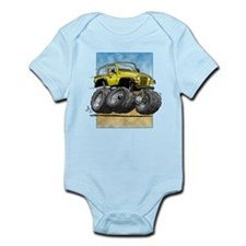 Yellow Wrangler Infant Bodysuit