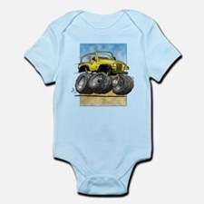 Yellow Wrangler Infant Bodysuit