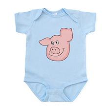 cute piggy Infant Bodysuit