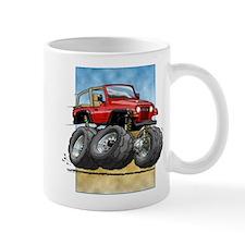 Red Wrangler Small Mug
