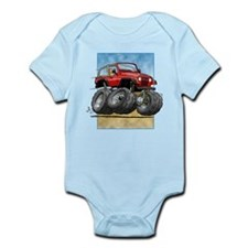 Red Wrangler Infant Bodysuit
