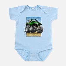 Green Wrangler Infant Bodysuit
