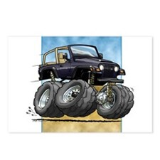 Black Wrangler Postcards (Package of 8)