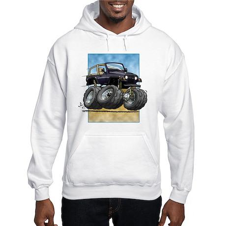 Black Wrangler Hooded Sweatshirt