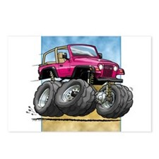 Pink Wrangler Postcards (Package of 8)