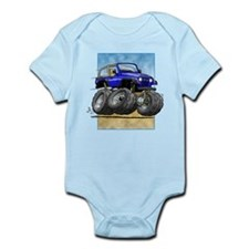 Blue Wrangler Infant Bodysuit