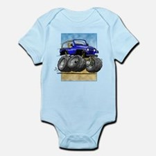 Blue Wrangler Infant Bodysuit