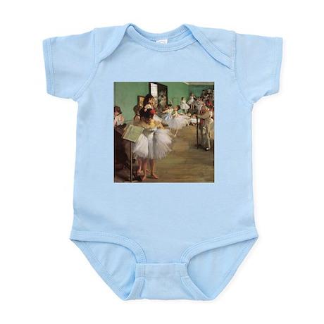 Edgar Degas Dancing Class Infant Bodysuit