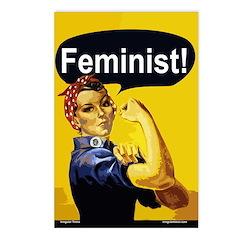 Rosie Feminist Postcards (Package of 8)