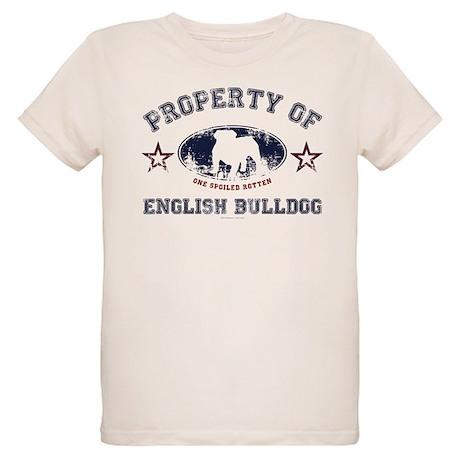 English bulldog organic kids t shirt english bulldog t T shirts for english bulldogs