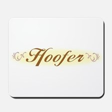 Lady Hoofer Mousepad
